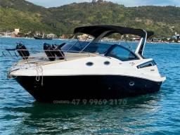 Título do anúncio: Lancha Focker 305 Black Edition Mercruiser 6.2L 350Hp Bravo 3 Dts 2021 Com 18horas Top
