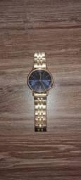 Relógio Tommy Hilfiger Masculino Aço Prateado e Dourado