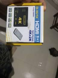 HDMI 3X1 switch 4K