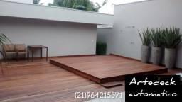 Deck de madeira ecológica