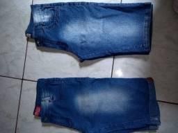 bermuda jeans infantil juvenil