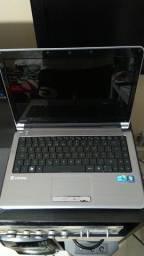 Notebook itautec w7430 core i3 aceito troca (leia descrição)