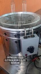 Fritadeira a óleo(água e óleo) elétrica Progás 220 V