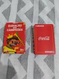 Baralho Coca Cola Comemorativo Copa de 2018