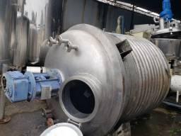 Reator inox 4.500 litros
