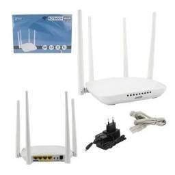 Roteador Wireless 300mbps 2.4ghz 4 Antenas 5dbi Kp-R05 Knup- Rf Informatica