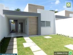 Casa no Eusébio com 7,50m de largura - Pronto pra morar!