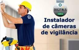 Instalação de câmeras - Seu patrimônio protegido por um preço justo e serviço qualidade