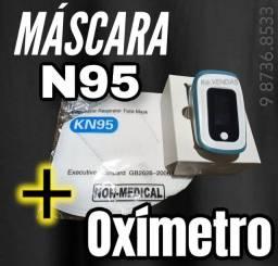 Oximetro + Máscara N95