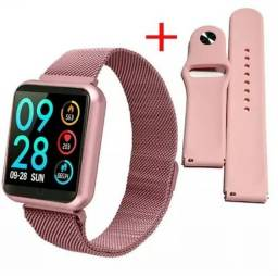 Relógio Smartwatch P70 + 2 Pulseiras