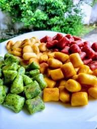 Nhoque caseiro de legumes sem conservantes