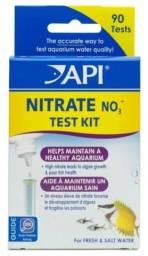 Teste de Nitrato API - Agua doce ou salgada