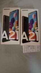 Samsung A21s 64gb **ultimas unidades** Originais e lacrados com NF!!