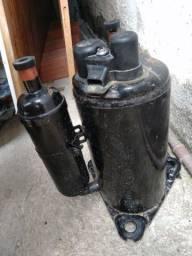 Compressor 19000 BTUs 220v R$400