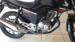 honda fan 160 2018 aceito moto menor valor parcelo cartao