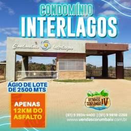 Ágio de Lote de 2500 mts no Condomínio Interlagos , Corumbá IV