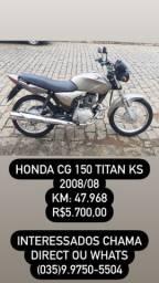 Honda CG 150 TITAN KS 2008/08