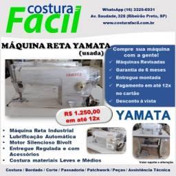 Máquina de Costura Reta Yamata Completa e regulada