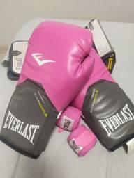 Luvas Muay Thay/ Boxe Everlast