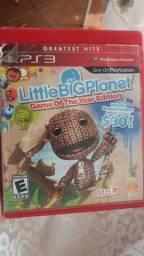 Ps3 littlebigplanet edição limitada com bônus limitada