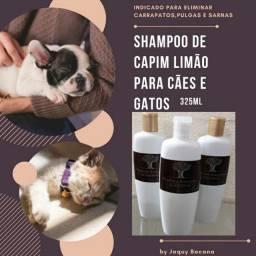 Shampoo natural para Cão e Gato Capim Limão