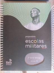 livros de preparatório para concursos militares