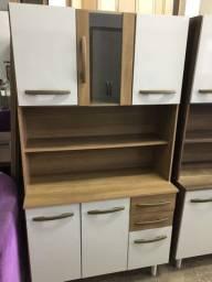 Armário de cozinha 6 portas