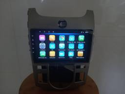 Central multimídia Android cerato ar digital