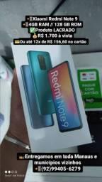 Telefone Xiaomi Redmi Note 9 LACRADO