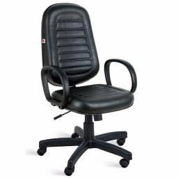 Cadeira presidente giratória com relax