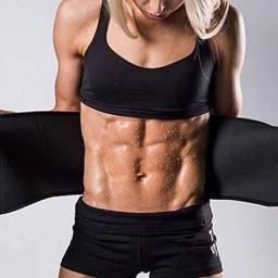 Cinta Térmica Modeladora Abdominal Ajustável Cintura Fitness