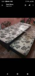 Cama box solteiro com  cama auxiliar. Na embalagem R$ 390,00