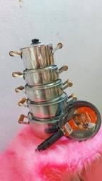 Panela com brinde (frigideiras)