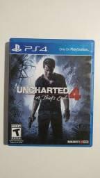 Uncharted 4 - PS4 usado