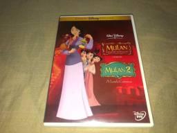 DVD Duplinha Disney - Mulan - 03 Discos