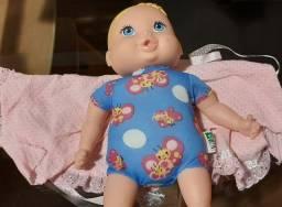 Boneca bebezinha,  recheio macio