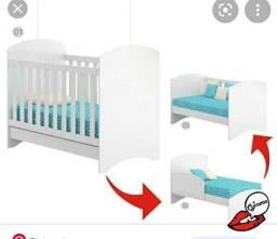 Título do anúncio: Berço que virá cama fica assim do jeito que ta na foto