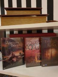 Kit  DVDs Vampires Diaries + Friends+ Twilight in  Forks