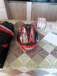 Vendo capacete 60 numero é jaqueta Texx