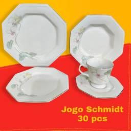 Jogo de Jantar Porcelana Schmidt 30pcs