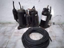 Compressor e cabos
