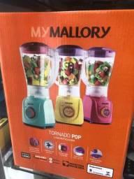 Liquidificador Mallory color lacrados