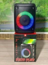 Caixa de Som Bluetooth Completa!
