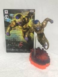 Action Figure Freeza Dourado 15cm Dragon Ball