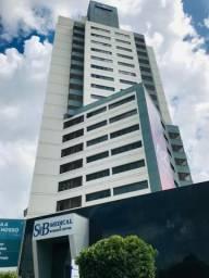 Vendo Sala no SB Medical, Bairro Jardim Cuiabá, andar alto, Sol da Manhã