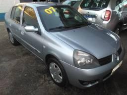 Renault Clio Sedan Privilege 1.6 Flex Completo! Barbada! Repasse! Financia 100% - 2007