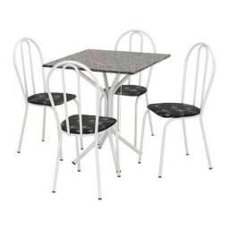 Mesa Londres com 4 cadeiras e tampo Granitado- Faça seu Pedido * Faça seu Pedido