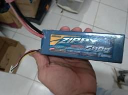 Bateria Lipo 3s 5000mah 30c Zippy Hardcase Alta Descarga drone aeromodelo