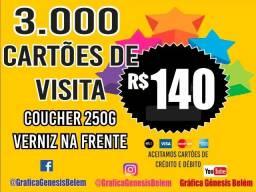 Promoção 3 mil cartões Apenas 140,00 de Banner, Blocos, Rifas, Tags,