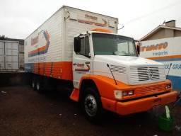 Caminhão MB L-1418, 1994 Baú - 1994